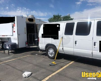 Used Mobile Kitchen Food Trailer with Van/Mobile Food Unit