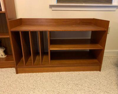 Stereo Cabinet, Teak - FREE