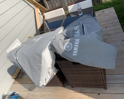 For Sale Pair of Yamaha Outboard Covers