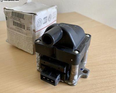 VW 2.0l Engine Ignition Coil Jetta Gti Golf New Oe