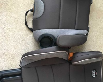 Chicco Kid fit booster seat $10