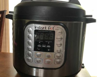 Instant Pot 6qt with spare inner pot