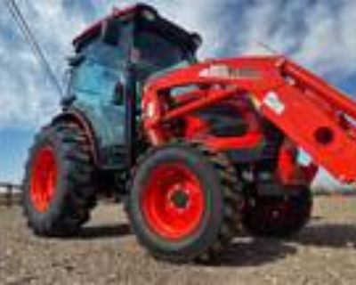 New 2021 KIOTI DK4710SECH-TL 47HP 4x4 HYSTAT CAB Tractor