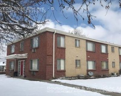 10709 W 8th Ave #5, Lakewood, CO 80215 1 Bedroom Apartment