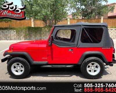 1990 Jeep Wrangler S Soft Top