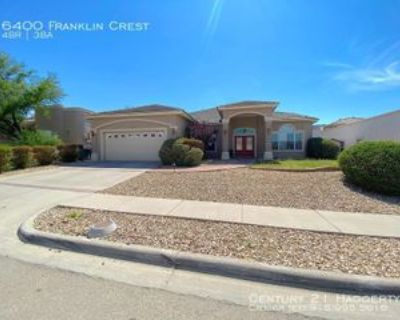 6400 Franklin Crest Dr, El Paso, TX 79912 4 Bedroom House