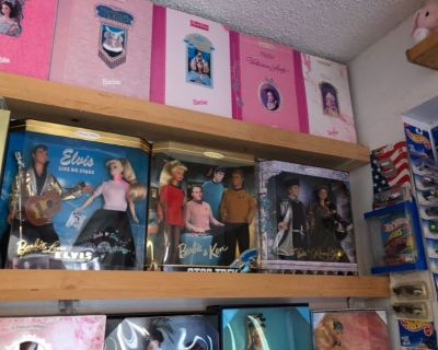 90% in box Barbie Doll Collection