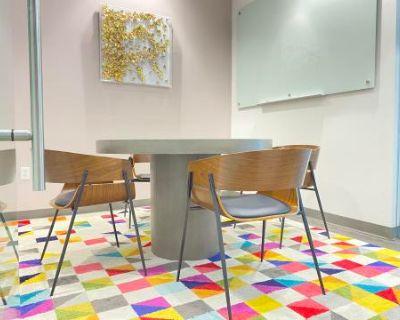 Bright 4 Person Think Tank Meeting Room, Dallas, TX