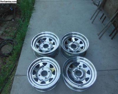 15x7 and 15x5 vw baja or sand rail wheels