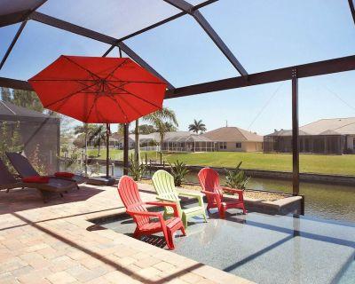 Villa New Waterside - amazing Pool Area with Jacuzzi facing south - Caloosahatchee