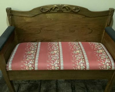Upcycled bed to bench (project piece)