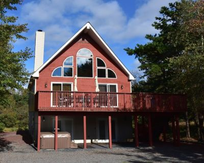 Pet friendly , sleeps 22, with steam shower,Hot Tub,Pool table and,air hockey, - Albrightsville