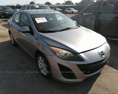 Salvage Gray 2011 Mazda Mazda3