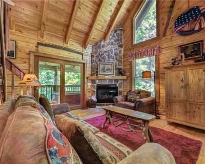 Buckhorn, 2 Bedrooms, Sleeps 6, WiFi, Jetted Tub, Fireplace, Hot Tub - Pigeon Forge