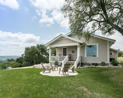 Lookout Hill Cottage   Wonderful Views   Near Luckenbach - Fredericksburg