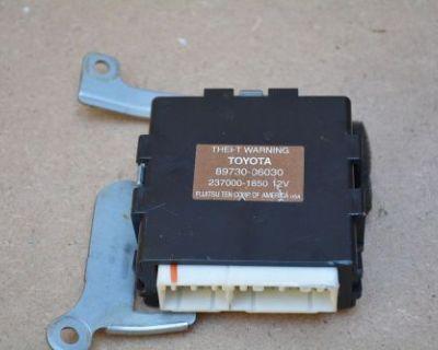1997-2001 Toyota Camry Anti-theft Warning Control Module Unit 89730-06030 Oem