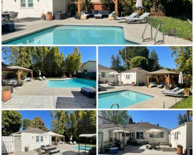 Private, Large Backyard With Pool, Open Patio And Gazebo, Sherman Oaks, CA