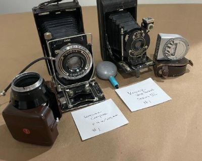 Major Vintage Camera Collection