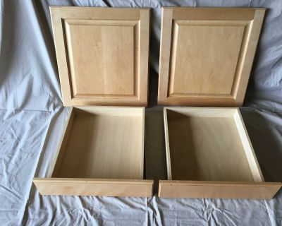 Cabinet Drawers and Doors - Used