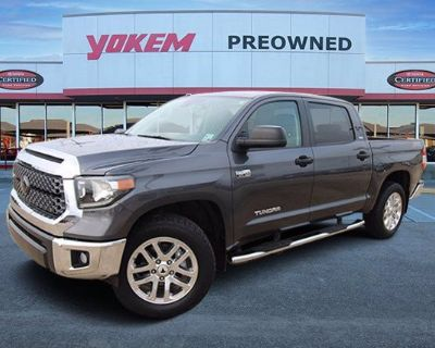 Pre-Owned 2018 Toyota Tundra 4WD SR5 Crew Cab Pickup 4WD