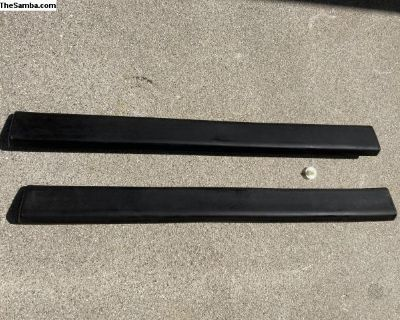 Front Bumper Impact Strips (2) Fits most