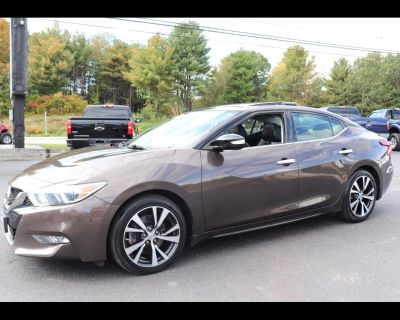 Used 2016 Nissan Maxima PLATINUM 3.5L V6 LOADED FINANCING AVAILABLE