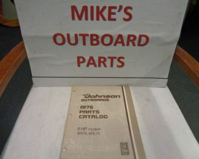 1975 Johnson Outboard 6hp Parts Catalog @@@check This Out@@@