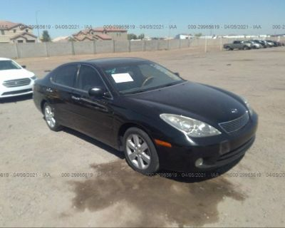 Salvage Black 2006 Lexus Es 330