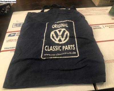 vw classic parts cloth bag