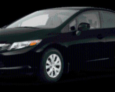 2012 Honda Civic LX Sedan Automatic