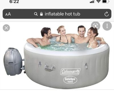 Coleman inflatable spa