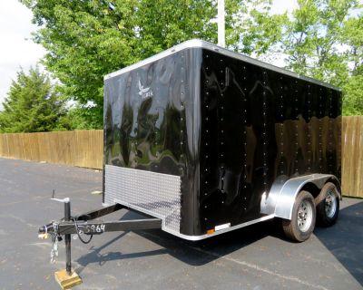 2022 Lark 7X12 TA Enclosed Flat Front