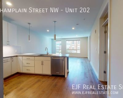 Modern Adams Morgan Condo for Rent! Large Windows, High Ceilings, Stainless Steel Appliances, & More!