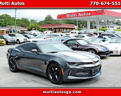 Used 2018 Chevrolet Camaro 1LT COUPE 8A W/ RS PACKAGE