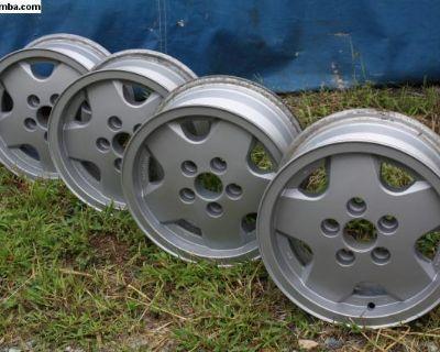 Original Germany Vanagon Aluminum Mag Wheels
