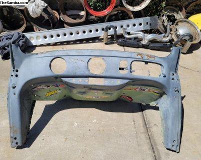 Oval dash front clip uncut