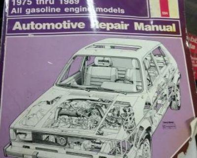 Haynes VW Rabbit, Golf, Pick Up, Scriocco 74-89