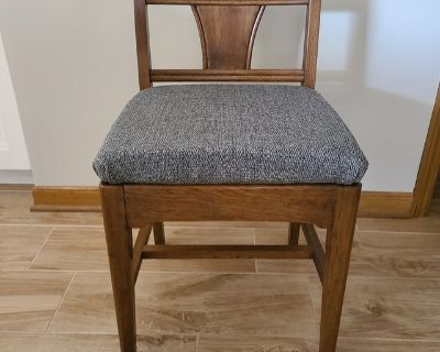 Unique Mid Century Modern Chair with Drawer