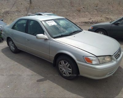 Salvage Silver 2001 Toyota Camry