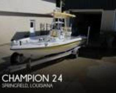 24 foot Champion 24