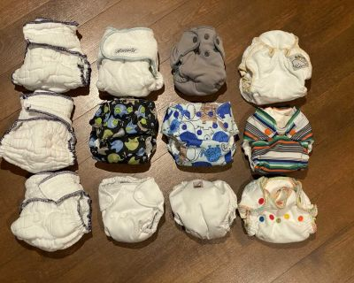 Newborn Cloth Diapers Overnight Fitted