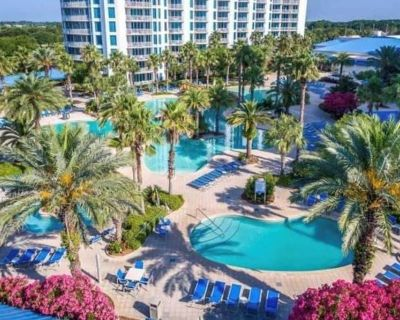 1704 Private Resort Condo Sunrise 2B 2BA Sleep 6 - Destin