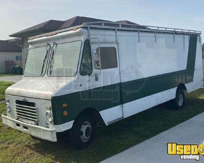 Ready to Convert Used 1993 Chevrolet Diesel 18' Empty Step Van