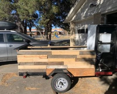 Rustic Food Trailer Ready To Operate - Unknown / Unknown / 2019