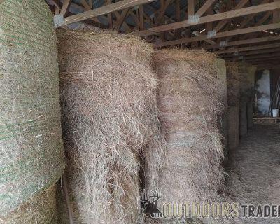 FS Drop $30 Fescue hay rolls