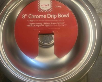 Brand new 8 inch drip bowl for stove SF home