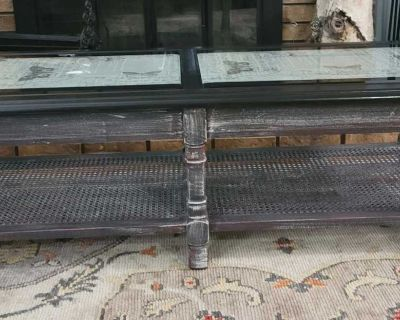Rustic Music Themed Coffee Table