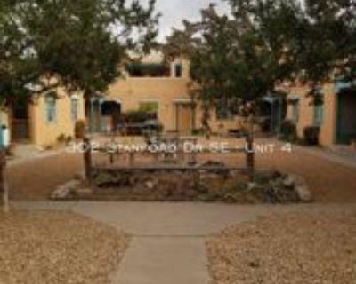 302 Stanford Dr Se #4, Albuquerque, NM 87106 1 Bedroom Apartment