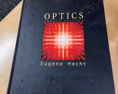"EE236A textbook, Hecht, ""Optics"", 4th edition"