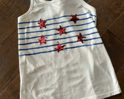Adorable 4th of July Shirt size S/6/6x